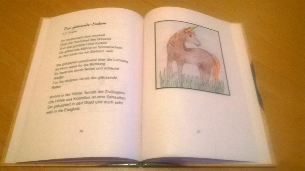 Ein Blick ins aktuelle Buch - SWS 2019 Einhörner und andere Fabelwesen